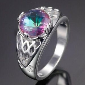 NEW Women's Enchanting .925 Sterling Silver Ring